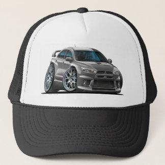 Mitsubishi Evo Grey Car Trucker Hat