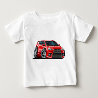 Mitsubishi Evo Red Car Baby T-Shirt