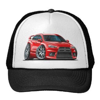 Mitsubishi Evo Red Car Cap