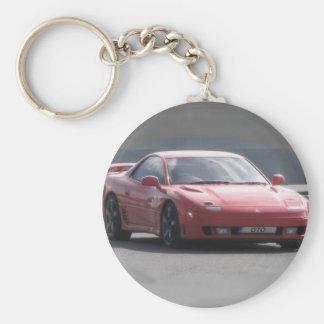 Mitsubishi GTO 3L Twin Turbo Basic Round Button Key Ring