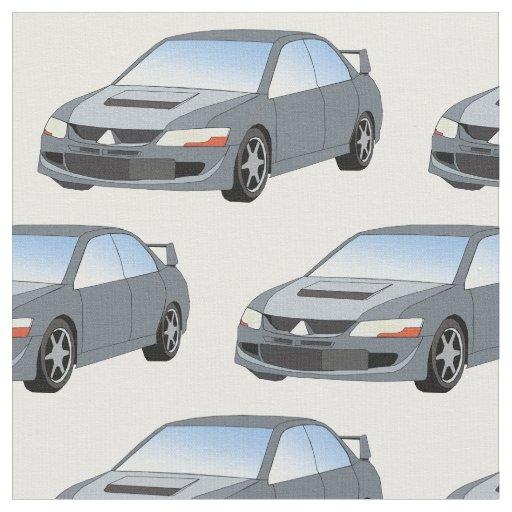 Mitsubishi Lancer Evolution Fabric