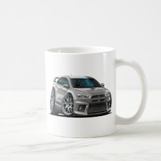 Mitsubishi Silver Car Coffee Mug