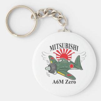 mitsubishi zero key chains