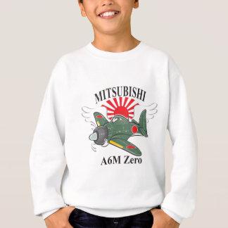 mitsubishi zero sweatshirt