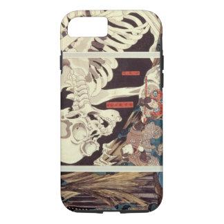 Mitsukini Defying the Skeleton Spectre, c.1845 iPhone 8/7 Case