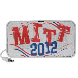 MITT 2012 Patriotic Notebook Speakers