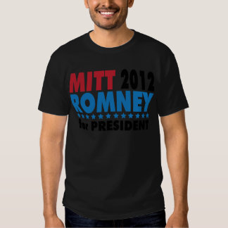 Mitt 2012 Romney for President.png T-shirts
