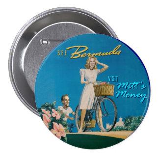 Mitt & Ann Romney 7.5 Cm Round Badge