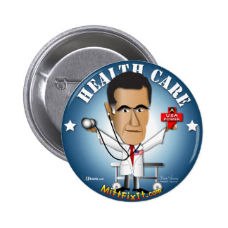 Mitt Fix It - Health Care 6 Cm Round Badge