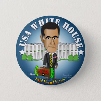 Mitt Fix It - White House 6 Cm Round Badge