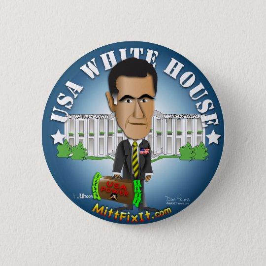 Mitt Fix It - White House 6 Cm Round Badge