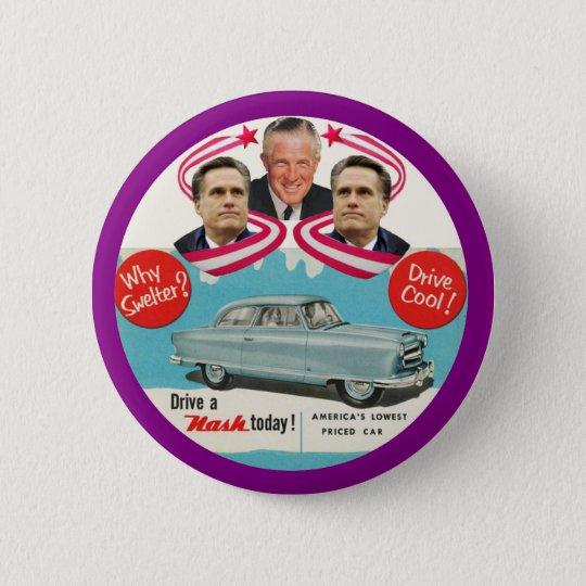 Mitt & George Romney 6 Cm Round Badge