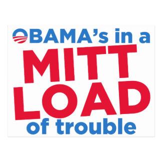 Mitt Load Postcard