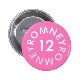 Mitt Romney 2012 6 Cm Round Badge