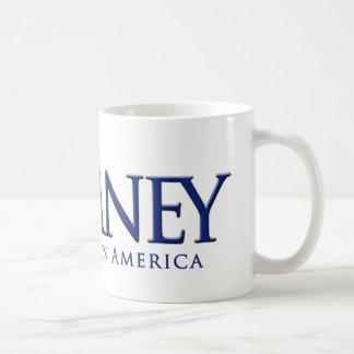 Mitt Romney 2012 Believe in America Basic White Mug