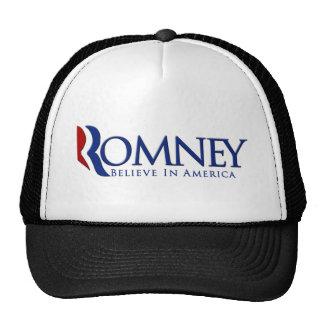 Mitt Romney 2012 Believe in America Cap