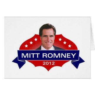 Mitt Romney 2012 for President Cards