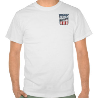 Mitt Romney 2012 (front and back) T Shirt