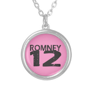 Mitt Romney 2012 Personalized Necklace