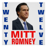 Mitt Romney 2012 Poster