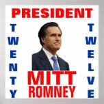Mitt Romney 2012 President Poster