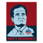 Mitt Romney 2012 Presidential Campaign Poster