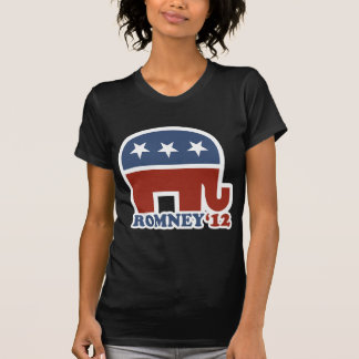 Mitt Romney 2012 Republican Elephant T-shirts