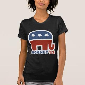 Mitt Romney 2012 Republican Elephant T-shirts