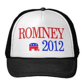 Mitt Romney 2012 Republican Presidential Candidate Hat