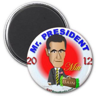 Mitt Romney 6 Cm Round Magnet