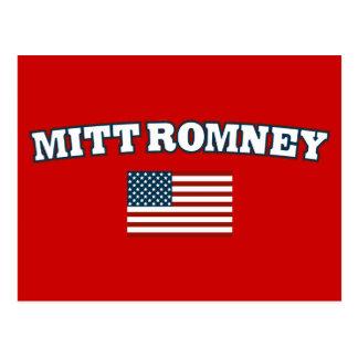 Mitt Romney America Postcard