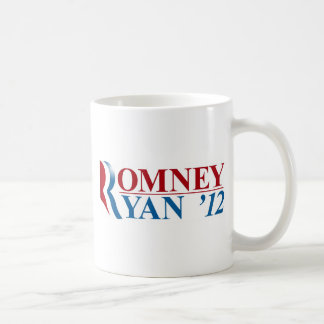 Mitt Romney and Paul Ryan 2012 Basic White Mug