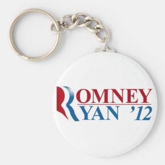 Mitt Romney and Paul Ryan 2012 Key Chains