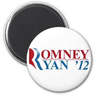 Mitt Romney and Paul Ryan 2012 Fridge Magnets