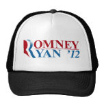 Mitt Romney and Paul Ryan 2012 Mesh Hats