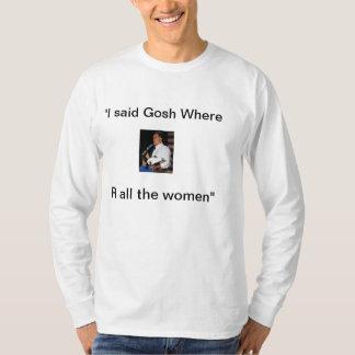 Mitt Romney Binder of women Tee Shirts
