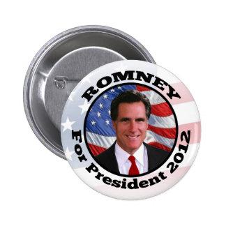 Mitt Romney Circle Frame Photo 6 Cm Round Badge