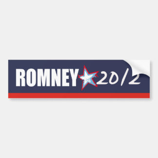MITT ROMNEY Election Gear Bumper Sticker