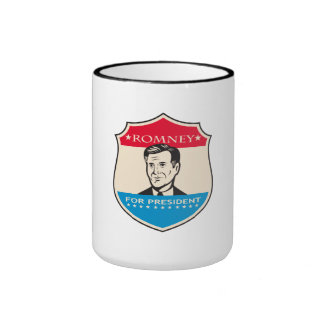 Mitt Romney For American President Shield Coffee Mug