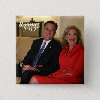 Mitt Romney for president! 15 Cm Square Badge