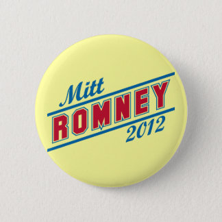 Mitt Romney for President 2012 6 Cm Round Badge