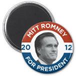 Mitt Romney For President 2012 6 Cm Round Magnet