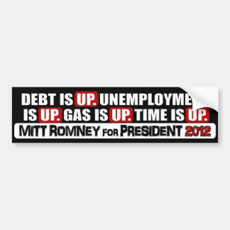 Mitt Romney for President - 2012 Bumper Sticker