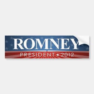 Mitt Romney for President 2012 Bumper Stickers
