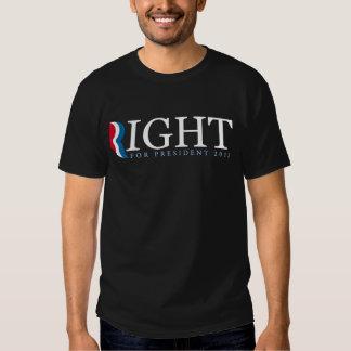 Mitt Romney for president 2012 Shirts