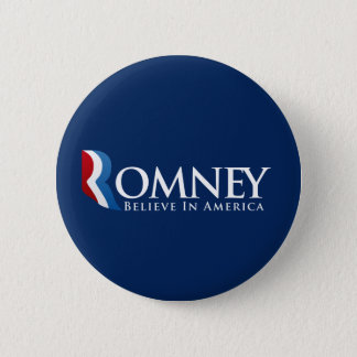 Mitt Romney for President 6 Cm Round Badge