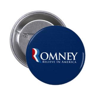 Mitt Romney for President Pins