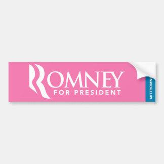 Mitt Romney For President Bumper Sticker 2012 Logo