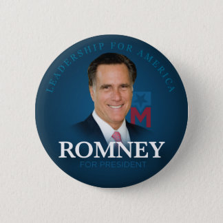 Mitt Romney for President Button