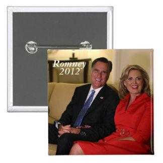 Mitt Romney for president Pinback Buttons